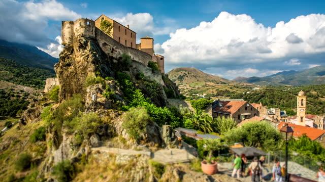 stockvideo's en b-roll-footage met corsica - kasteel