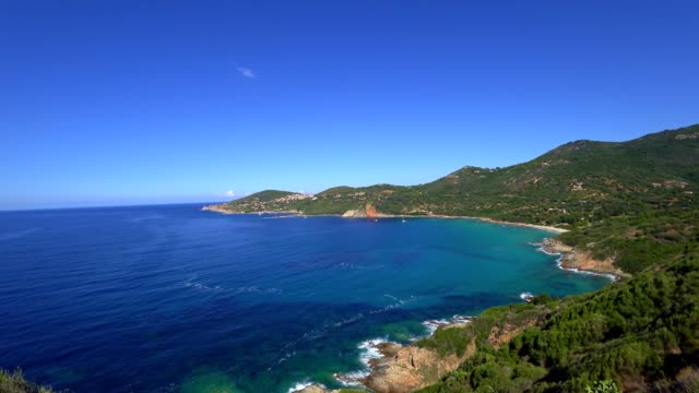 Corsica - west coast on a summer day