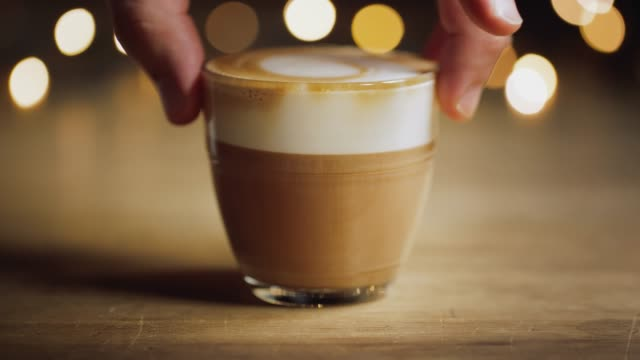 cortado uhd - espresso stock videos & royalty-free footage