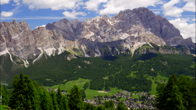 Cortina d'Ampezzo In The Dolomites Mountains