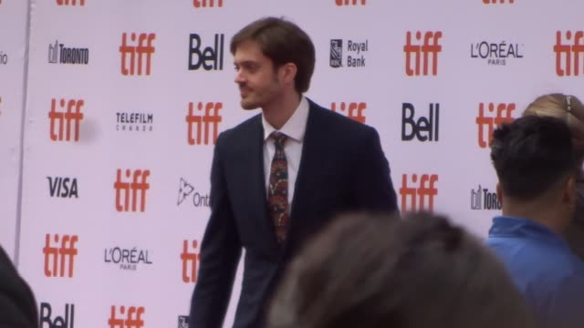 cory finley at the toronto international film festival in toronto in celebrity sightings in toronto, - toronto international film festival stock videos & royalty-free footage