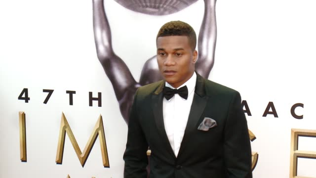 cory hardrict at 47th annual naacp image awards at pasadena civic auditorium on february 05 2016 in pasadena california - pasadena civic auditorium stock-videos und b-roll-filmmaterial
