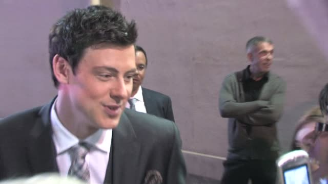 cory monteith in hollywood at the celebrity sightings in los angeles at los angeles ca - cory monteith stock videos and b-roll footage