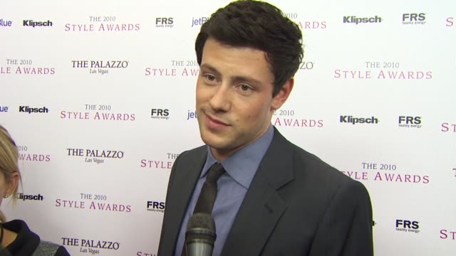 cory monteith on the event at the 2010 hollywood style awards at los angeles ca - cory monteith stock videos and b-roll footage