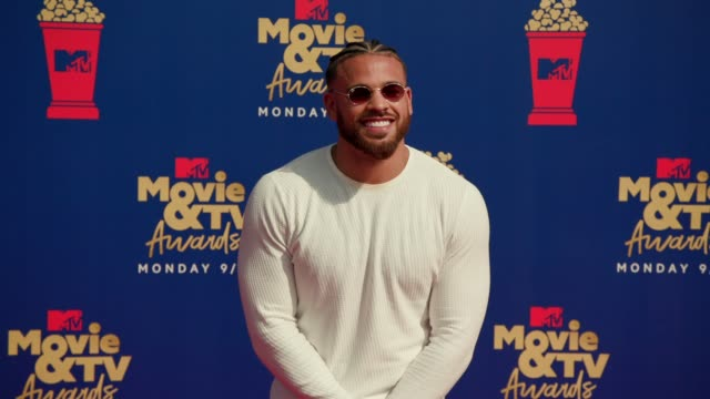 Cory Wharton at the 2019 MTV Movie TV Awards at Barkar Hangar on June 15 2019 in Santa Monica California