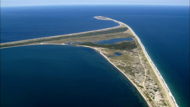 Coskata-Coatue Wildlife Refuge  - Aerial View - Massachusetts,  Nantucket County,  United States