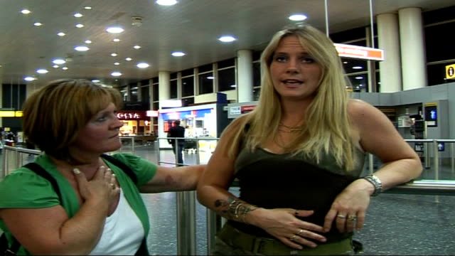 bungled operation close shot of kelly hodges showing bandage on her stomach kelly hodges interview sot i've been told it is healing but will be left... - scar stock videos & royalty-free footage