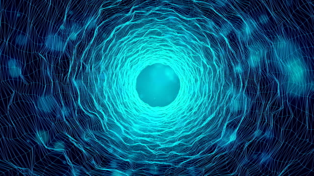 cosmic wormhole tunnel bacterium future - heaven stock videos & royalty-free footage