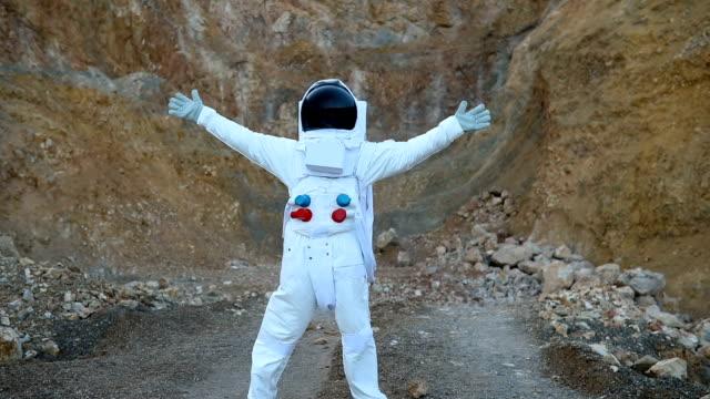 Cosmonaut on Mars