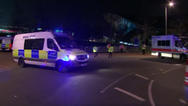 cost of policing football matches in london close to eight million pounds a year t27101638 / tx police vans along with lights flashing and sirens... - siren stock videos and b-roll footage