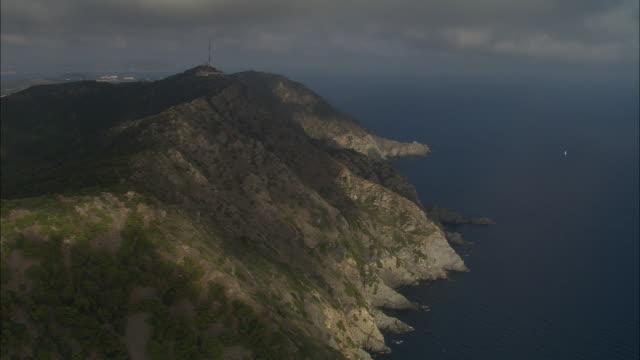 Costa Azzurra And Watchtower On Headland