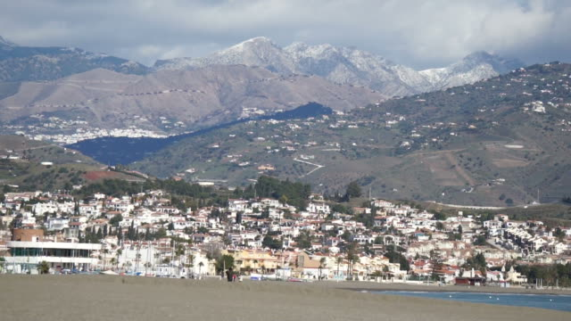 costa del sol in winter - andalucia stock videos & royalty-free footage