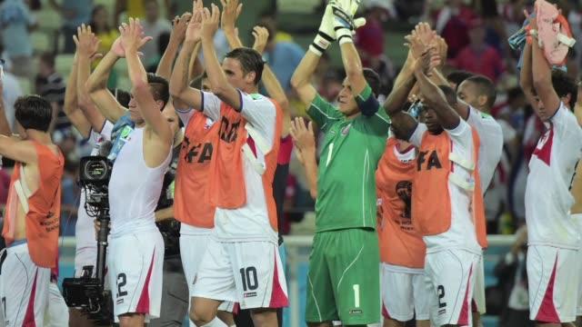 Costa Rica dio una gran sorpresa el sabado y batio por 31 a Uruguay semifinalista en la pasada Copa del Mundo una victoria que le permite a los ticos...