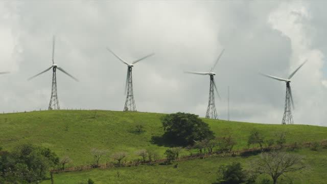 stockvideo's en b-roll-footage met costa rica, wind turbines - vier dingen