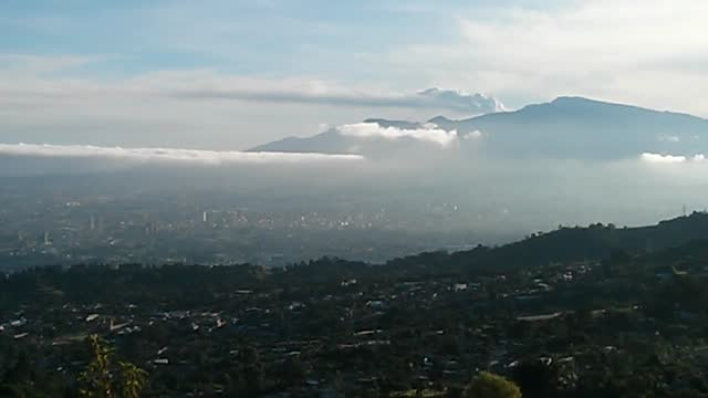 costa rica's turrialba volcano experienced its largest eruption in 150 years on october 30. the force of the explosion was such that ash... - costa rica stock videos & royalty-free footage