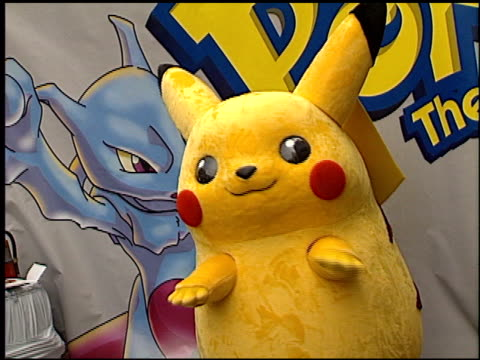Costume Characters at the 'Pokemon The First Movie' Premiere at Grauman's Chinese Theatre in Hollywood California on November 6 1999