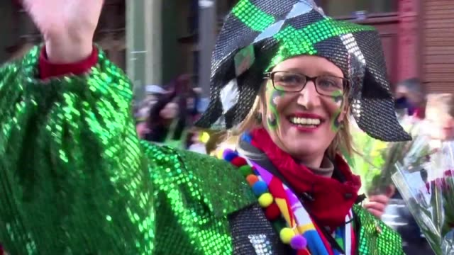 Costumed revellers in Cologne braved intermittent rains to take part in Rose Monday parades held under tight security to prevent attacks or a repeat...