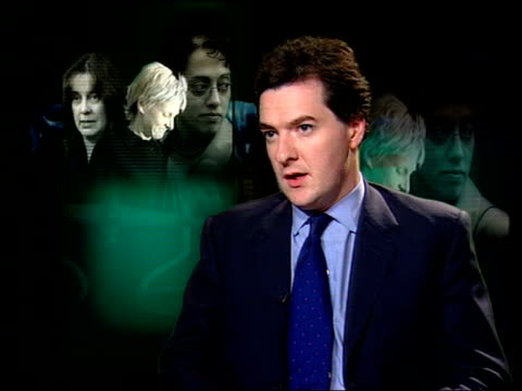 cot death convictions cast doubt on expert witnesses itn george osborne mp interview sot - george osborne stock videos & royalty-free footage