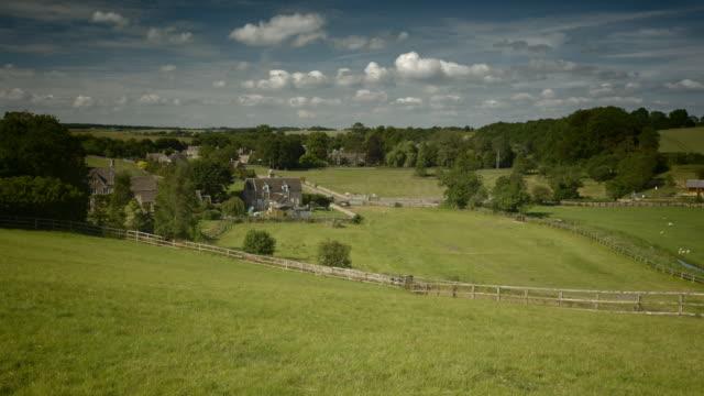 Cotswold landscape, Gloucestershire, UK