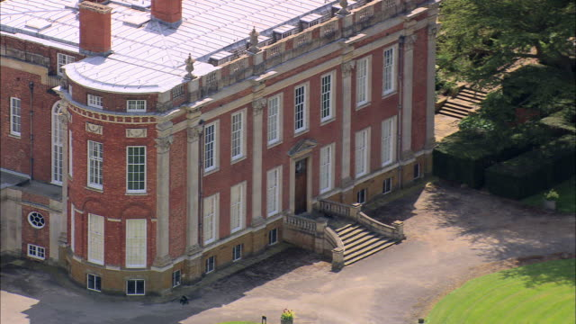 cottesbrooke hall - stately home stock videos and b-roll footage