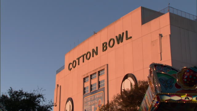CI ZO ZI Cotton Bowl building, Dallas, Texas, USA