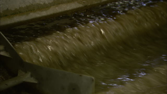 cotton goes through part of the washing process in a paper mill. - mill stock videos & royalty-free footage