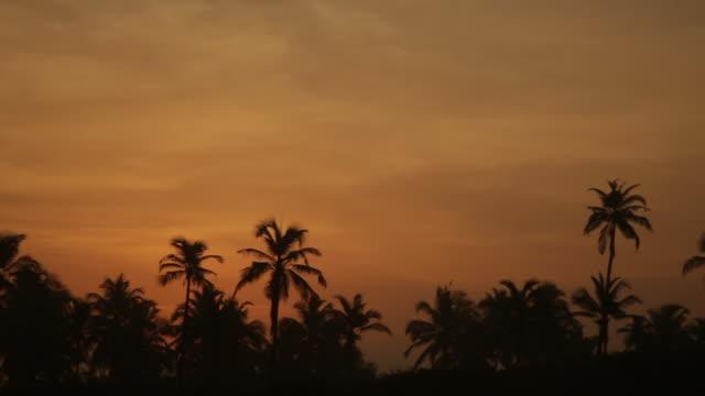 coucher de soleil sur goa en inde - inde stock videos & royalty-free footage