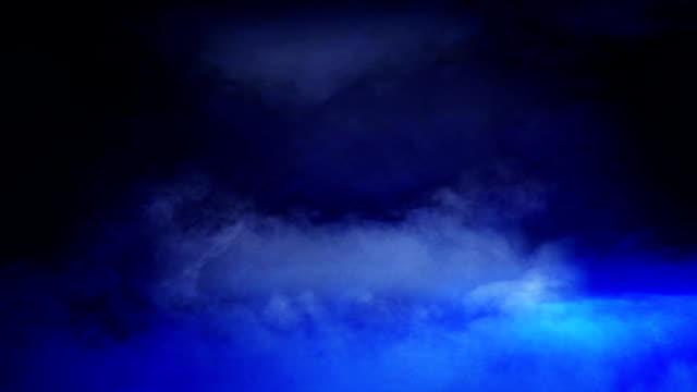 vídeos y material grabado en eventos de stock de couds lluvia mega luces - fractal