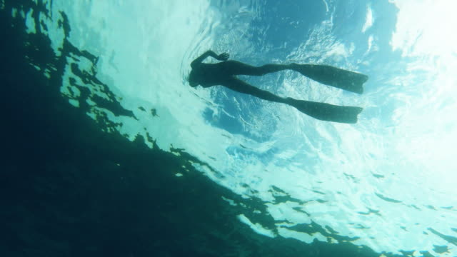 i could swim this ocean all day - snorkelling stock videos & royalty-free footage