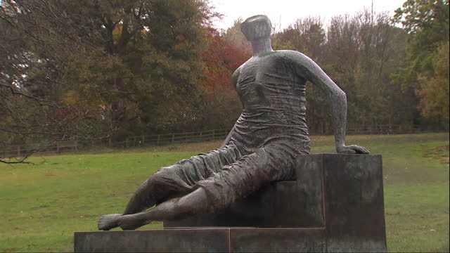 council in london has decided to sell a henry moore sculpture in a bid to claw back money lost from budget cuts. it's been met with opposition from... - henry moore stock videos & royalty-free footage