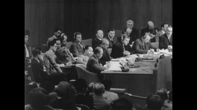 un council issues ceasefire order in indonesia which leads to a truce in january of 1948 - 1948 stock videos & royalty-free footage