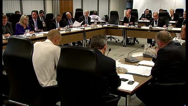 int councillor brian coleman speaking at london fire and emergency planning authority meeting between fire authority and fire brigade unions sot i... - emergency planning stock videos and b-roll footage