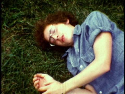 1973 MS Counselor hasving spasm on grass / Sussex, New Jersey