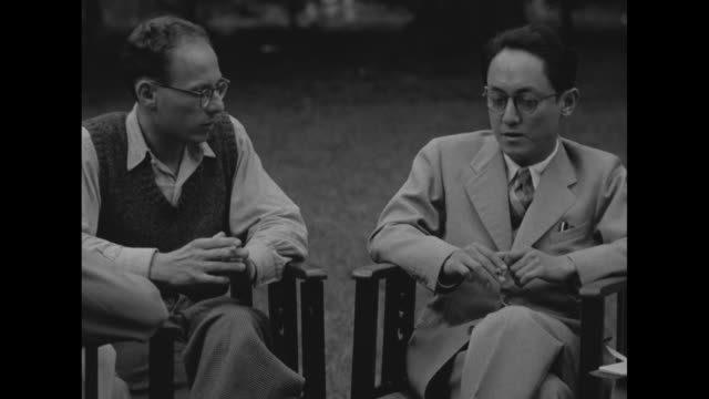 count ito / ito and don bell / war correspondent sidney whipple and bell interviewing ito, grandson of prime minister count ito hirobumi, through an... - constitution stock videos & royalty-free footage
