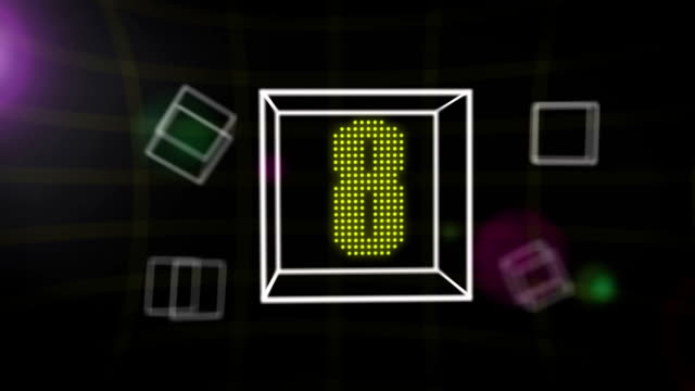 Countdown cube