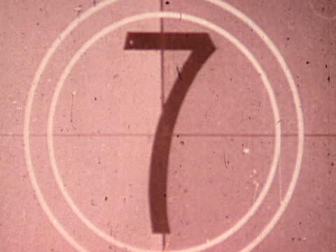 Countdown. Film effect