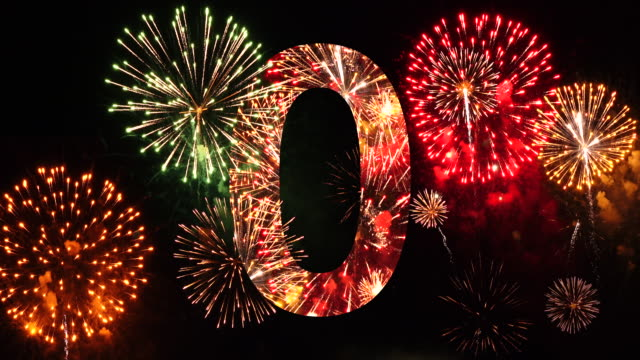 Countdown Firework Audio Included