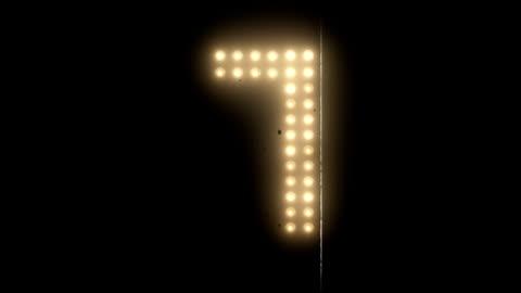 countdown light - nedräkning bildbanksvideor och videomaterial från bakom kulisserna