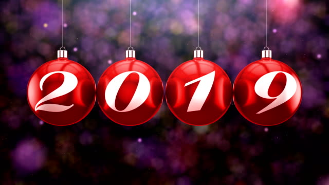 countdown to new year, 2019 - 2019 stock videos and b-roll footage