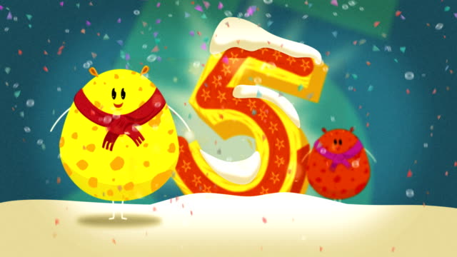 countdown to new year's eve - party poster stock videos & royalty-free footage