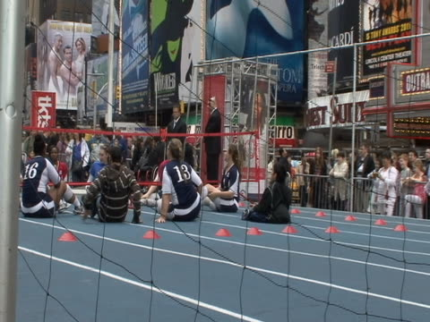 countdown to olympics event in times square in new york city. - healthcare and medicine or illness or food and drink or fitness or exercise or wellbeing stock videos & royalty-free footage