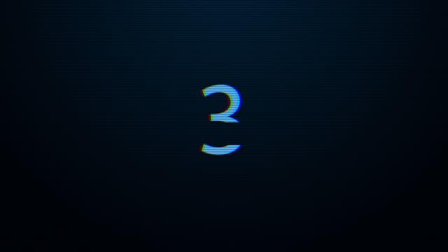 countdown - zahl 10 stock-videos und b-roll-filmmaterial