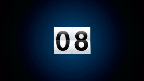countdown - number 2 stock videos & royalty-free footage