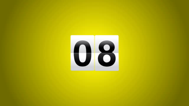 countdown - number 3 stock videos & royalty-free footage