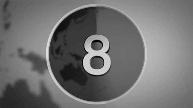 countdown world 10 - number 5 stock videos & royalty-free footage