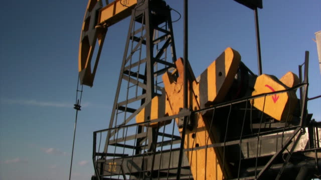 counterweight. oil well - mining stock videos & royalty-free footage