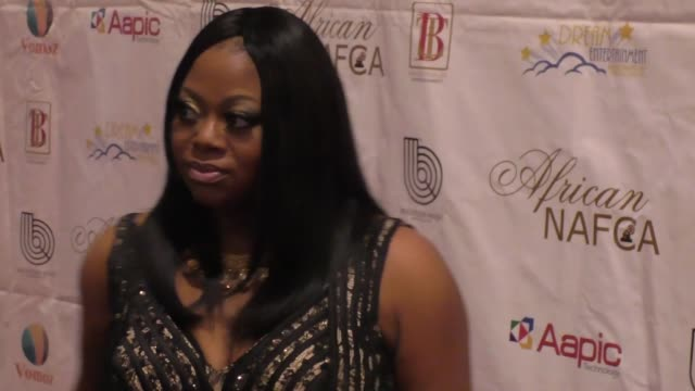 countess vaughn at the nollywood and african film critics' awards at the orpheum theatre in los angeles at celebrity sightings in los angeles on... - kritiker stock-videos und b-roll-filmmaterial