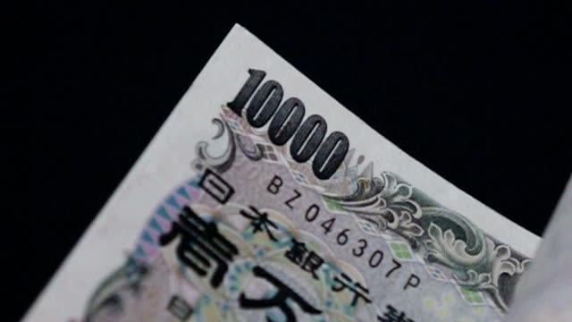 日本円 - スローモーションをカウント - 計算する点の映像素材/bロール
