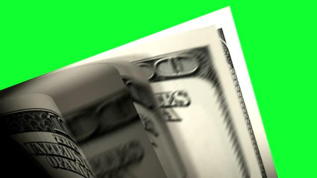 vídeos de stock, filmes e b-roll de hd: contando dinheiro com verde tela. - distrito financeiro de manhattan