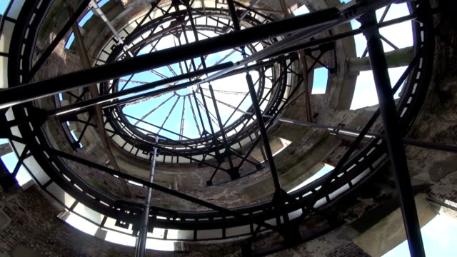 countless bricks and piles of debris are seen inside the abomb dome here as the 20th anniversary of its unesco world heritage... - anniversary stock videos & royalty-free footage